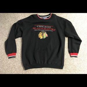 Vintage Chicago Blackhawks starter crewneck XL NHL
